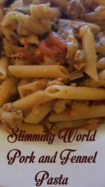 Slimming World Pork And Fennel Pasta
