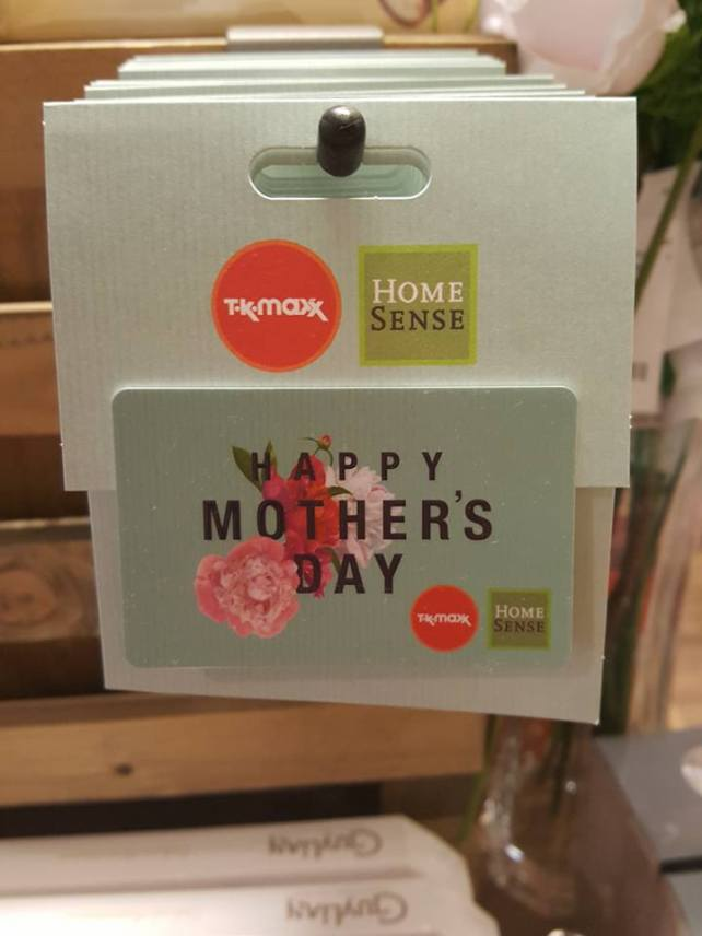Mother's Day at HomeSense Gift Card