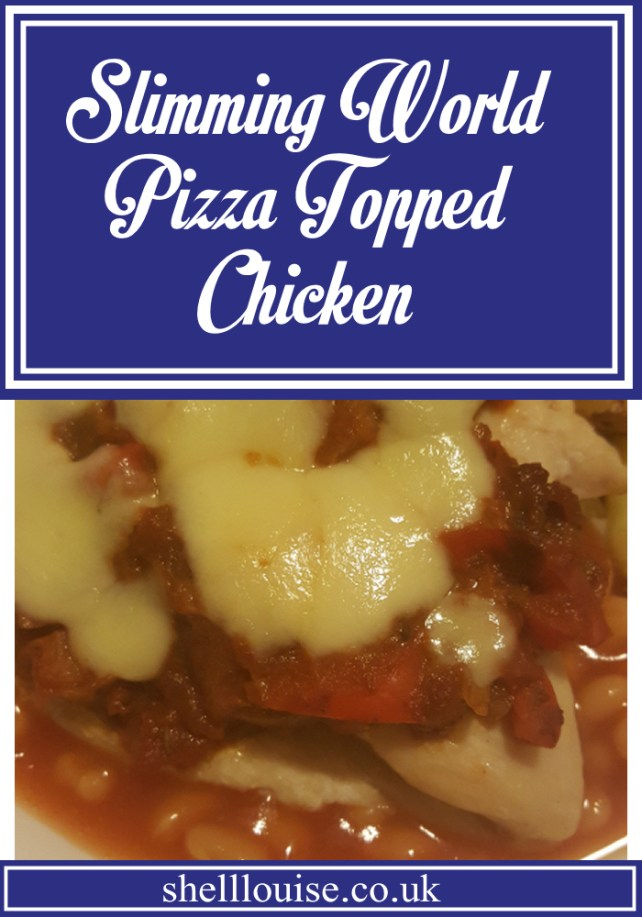 Pizza topped chicken Slimming World recipe