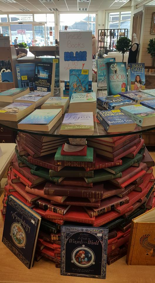 These books BLUE us away