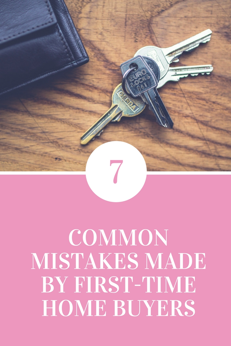 7 common mistakes made by first time buyers