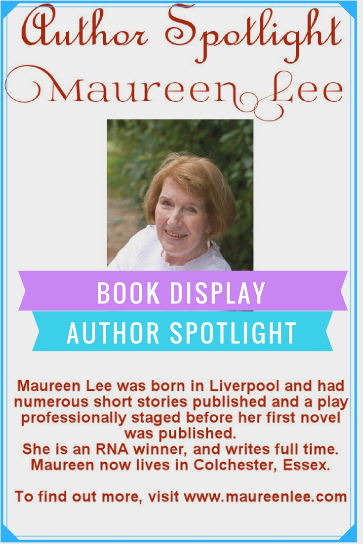 Maureen Lee Author Spotlight Book Display