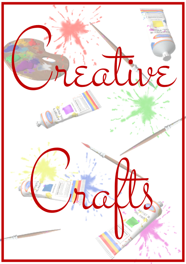 Creative Crafts Book Display Poster