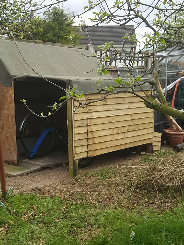 new bike shed