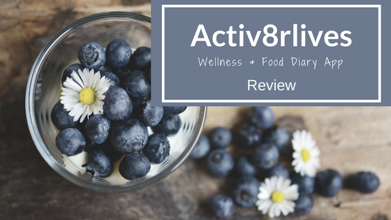 Activ8rlives wellness and food diary app