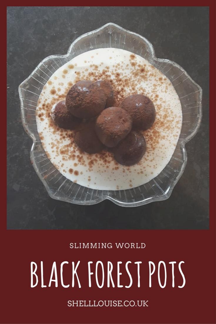 Slimming World Black Forest Pots