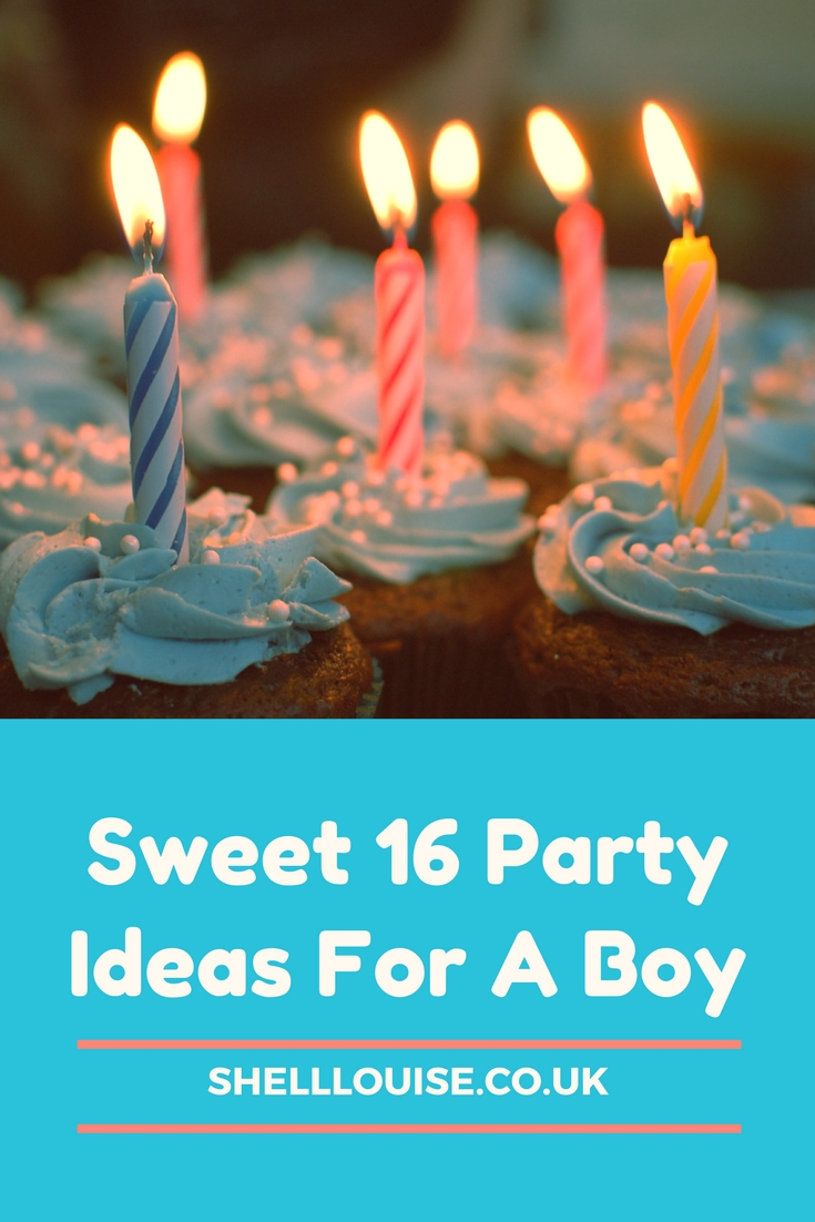Top Three Birthday Party Ideas For A Boys Sweet 16 Party