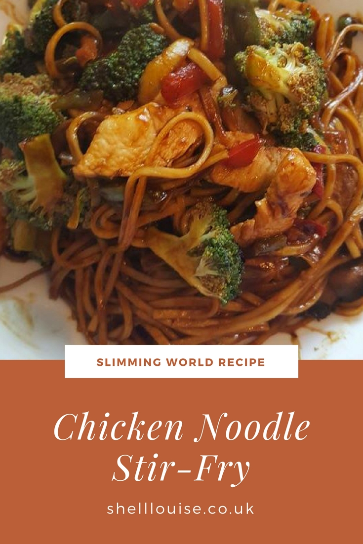 how to make chicken stir fry with noodles