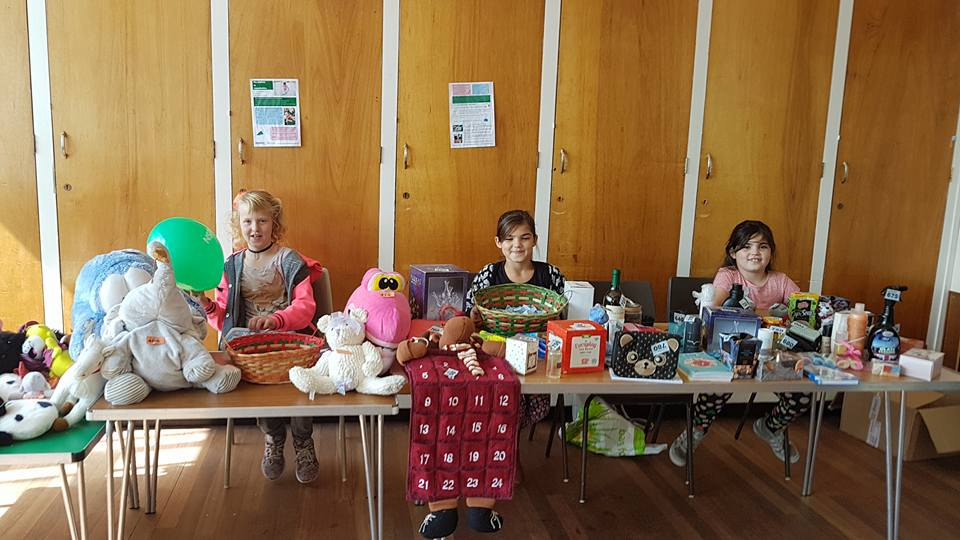 NSPCC fun day tombola