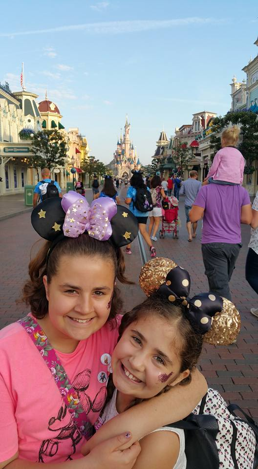 Kaycee and Ella - Disneyland Paris Photos