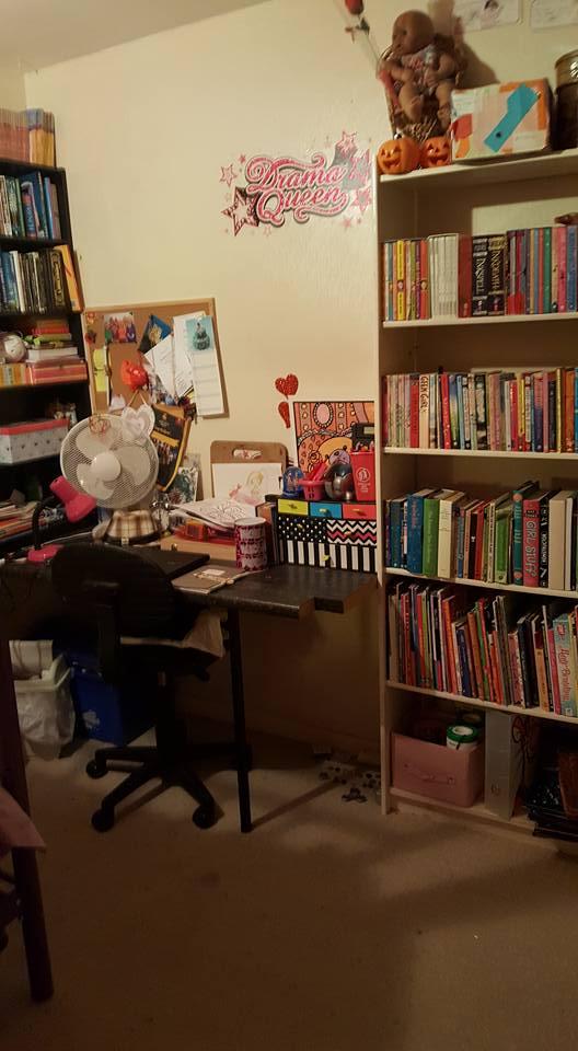 Kaycee's desk