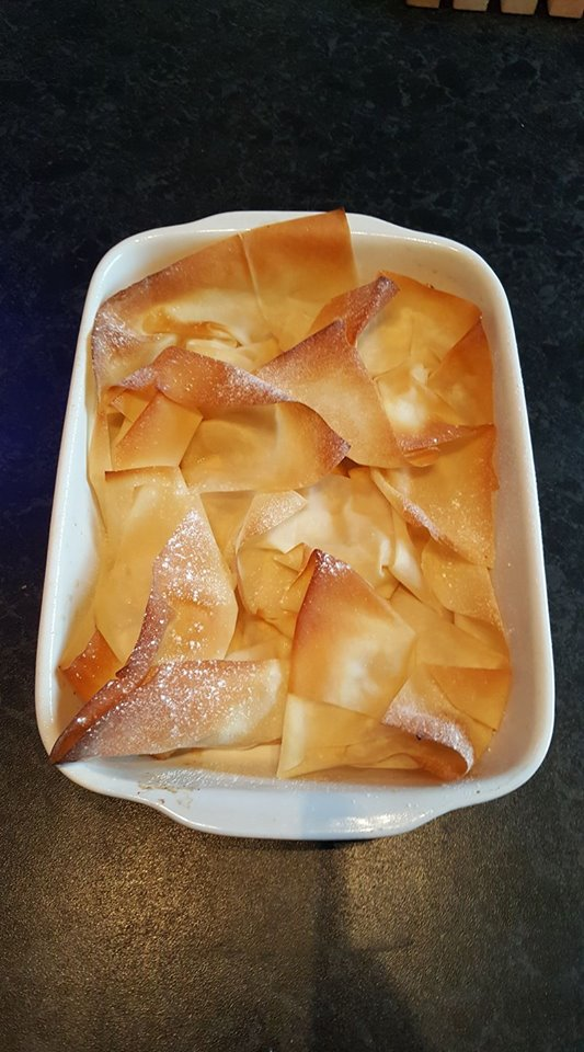 Filo Apple Pie