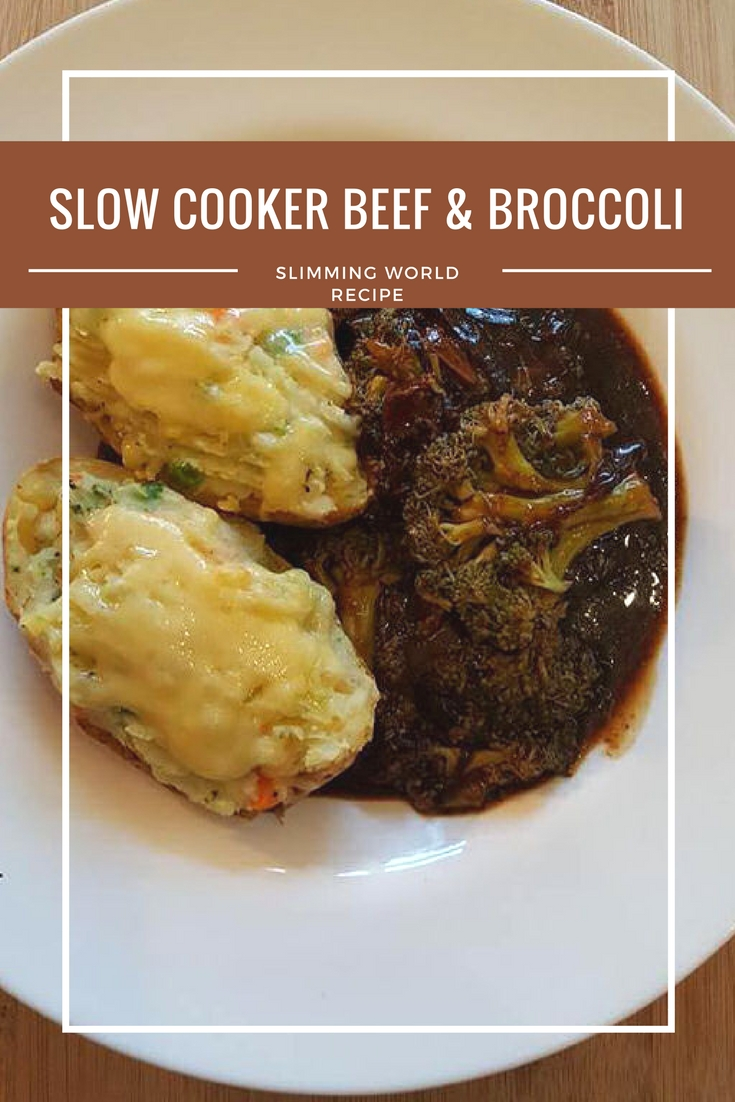 slow cooker beef and broccoli slimming world recipe