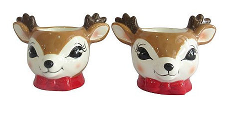 reindeer egg cups asda