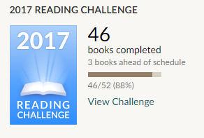 Goodreads reading challenge 2017 46 books read