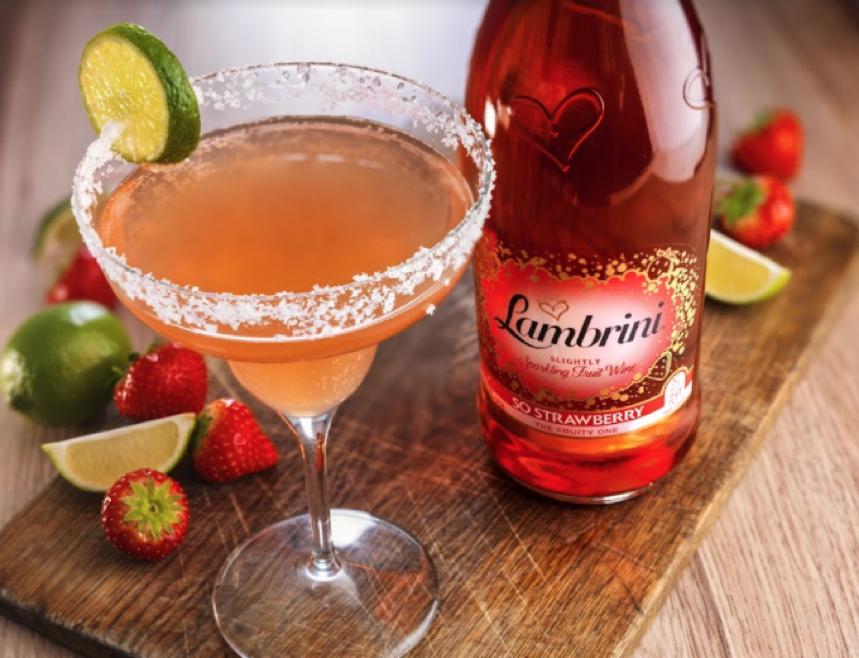 Lambrini Sweet Berry Sunshine Cocktail