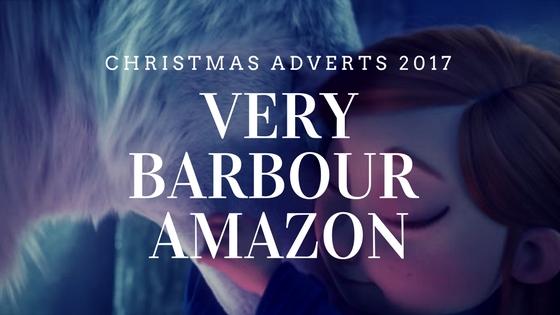 Barbour Amazon Very Christmas adverts