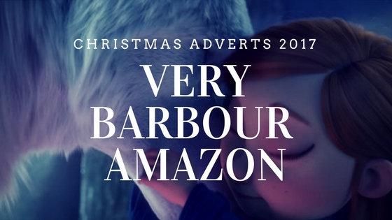 Barbour Amazon Very Christmas adverts