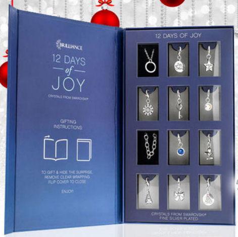 jewellery advent calendar 12 days of joy advent calendar. Black Bedroom Furniture Sets. Home Design Ideas