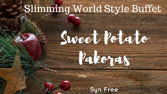 Sweet potato pakoras