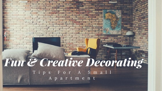 creative decorating tips for a small apartment