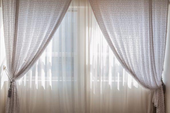 creative decorating tips - hang long curtains