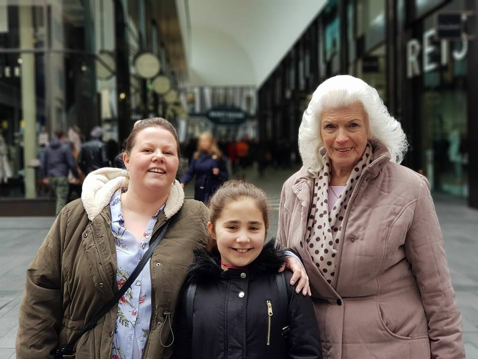 Ella's Easter Weekend - Ella, Kellyann and Margaret