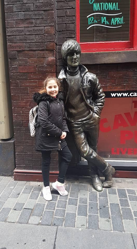 Ella's Easter Weekend - Ella in Liverpool