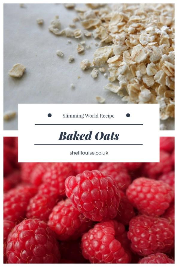 Baked oats - Slimming World recipe