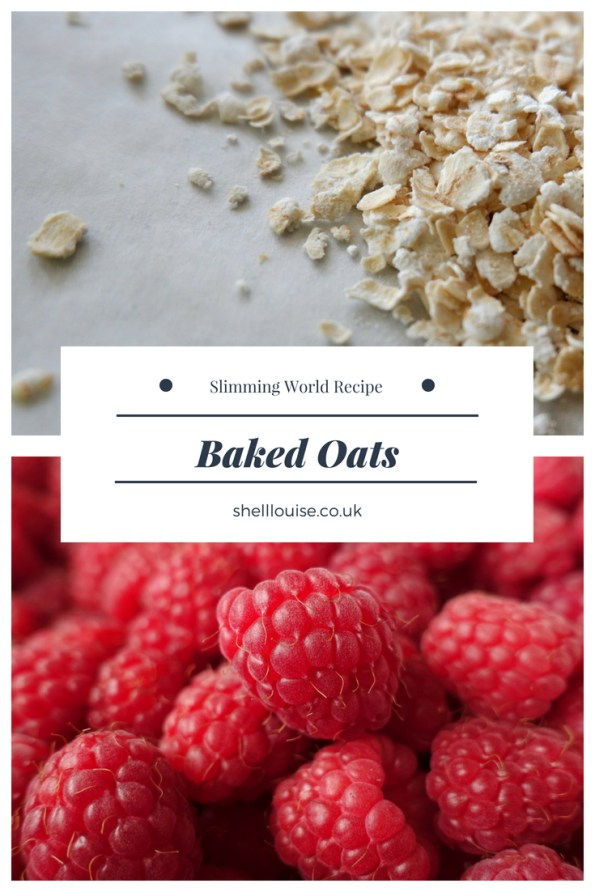 Baked oats - Slimming World recipe
