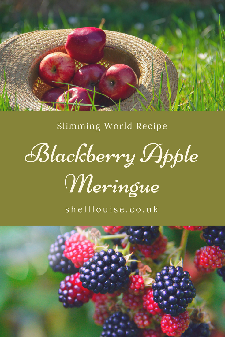 blackberry apple meringue slimming world recipe
