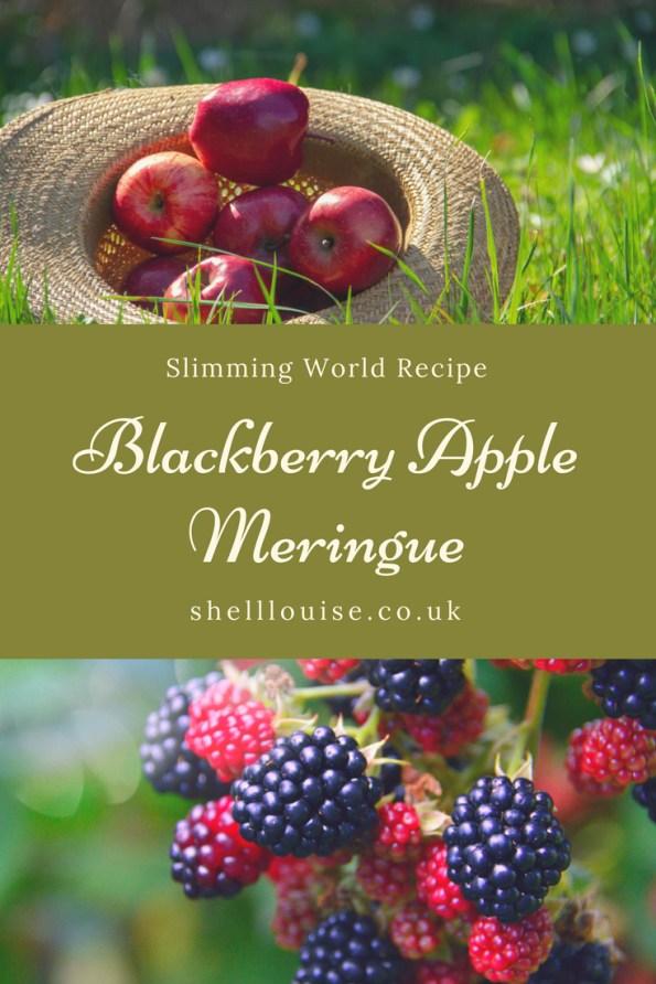 blackberry apple meringues slimming world recipe