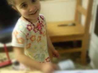 Ella painting
