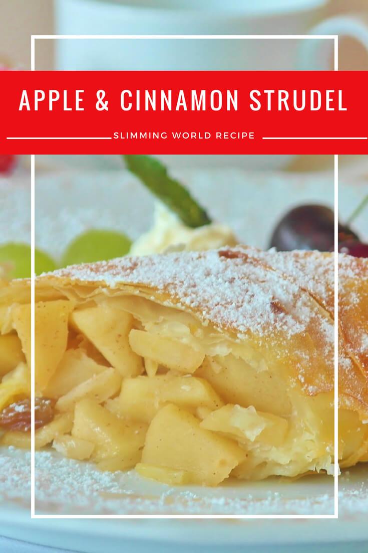 apple and cinnamon strudel
