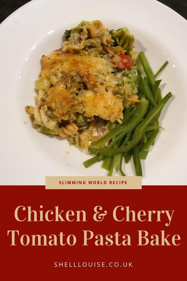 Cherry Tomato And Chicken Pasta Bake Slimming World Recipe