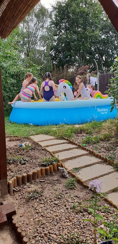 Ella's 11th birthday pool party