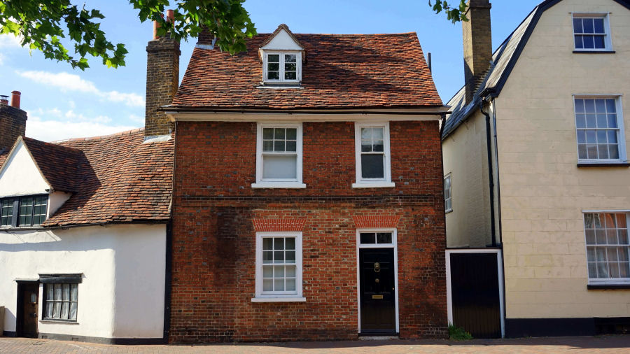 Brick house - when buying think of hidden property costs