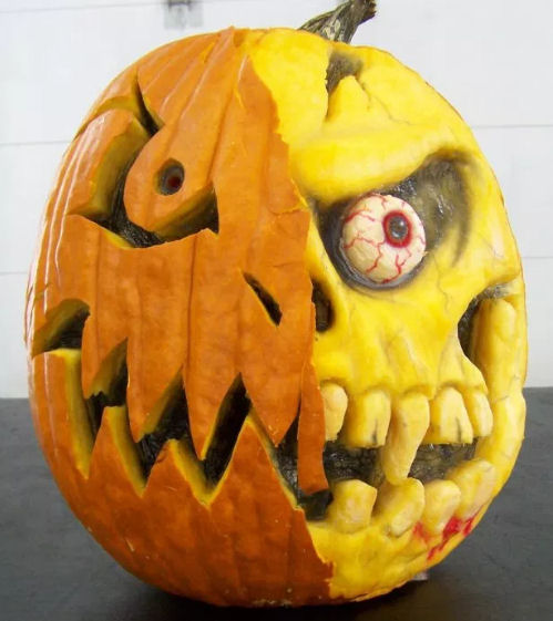 3D pumpkin carving You Tube tutorial