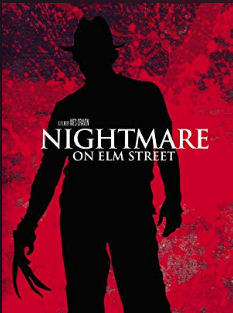 A Nightmare On Elm Street poster - scary movies