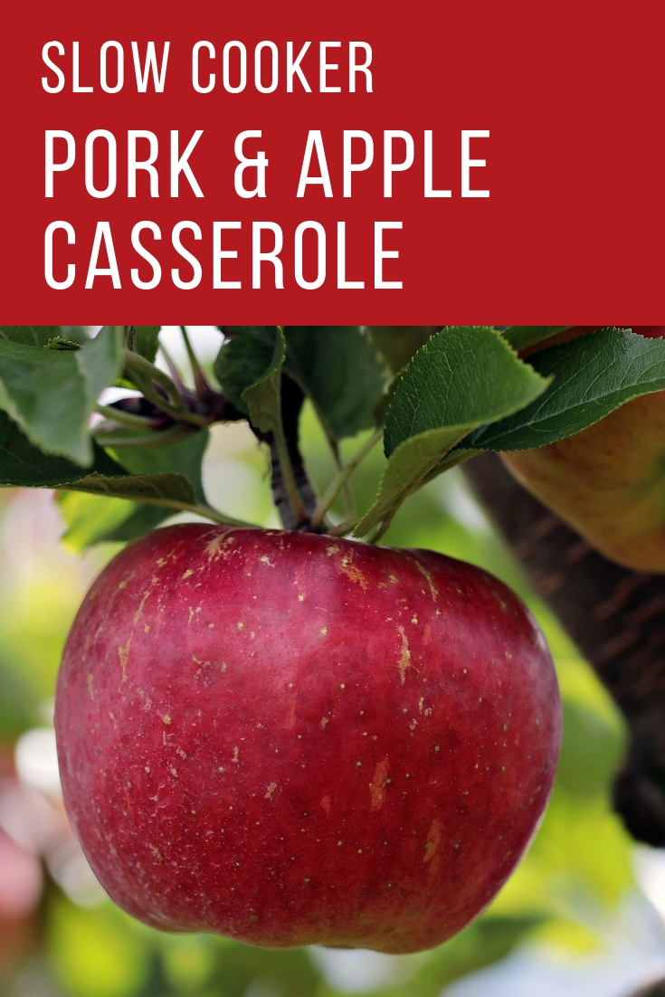 slow cooker pork and apple casserole