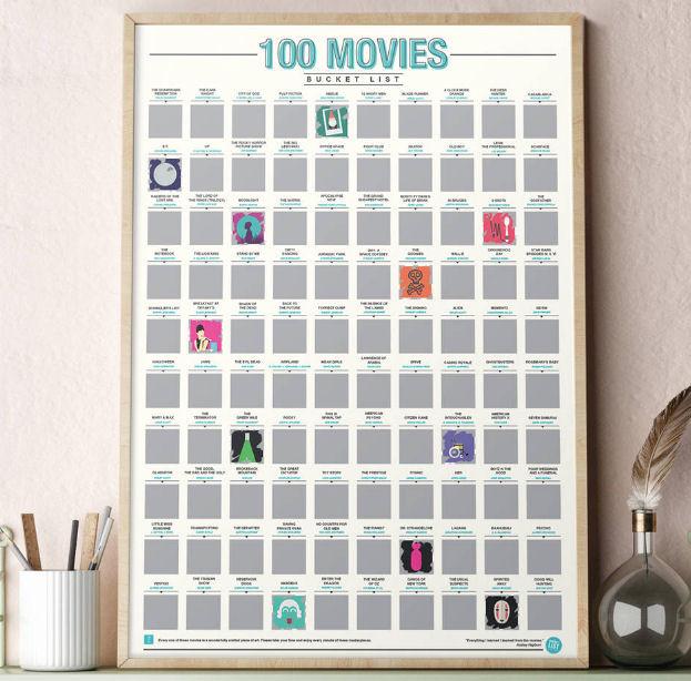 100 Movies Scratch Bucket List