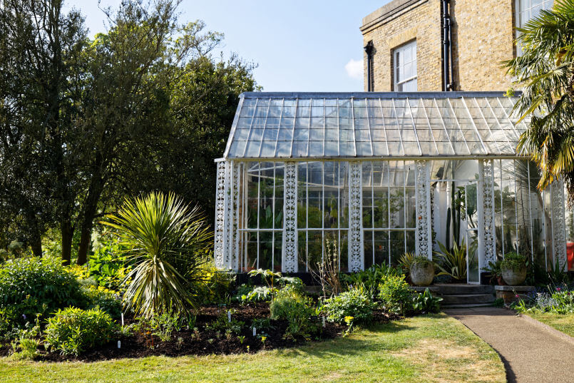 Myddelton House conservatory