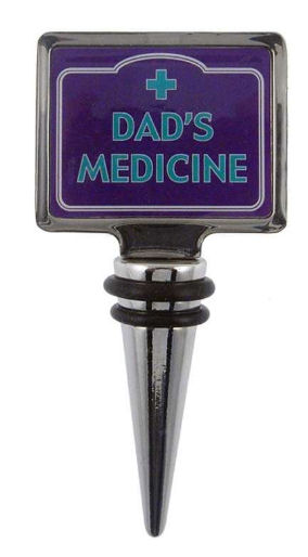 Dad's Medicine Bottle Stopper from Guess What I Forgot