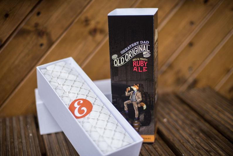 Personalised Old Original ruby ale