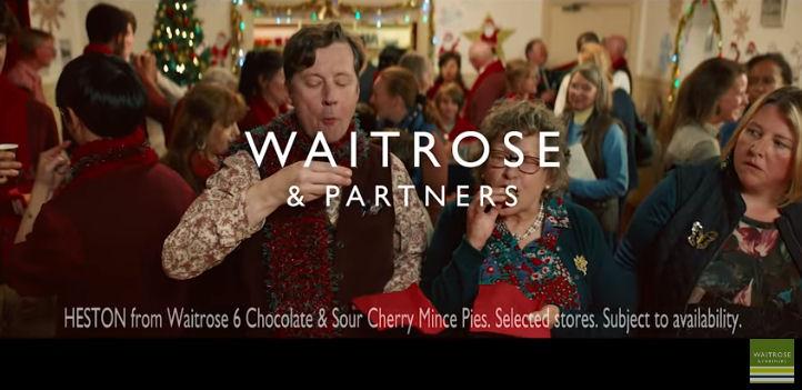 Waitrose Christmas adverts 2018