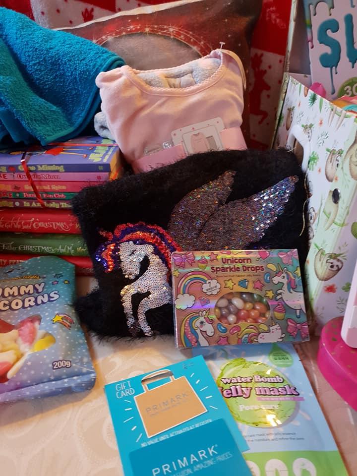 Christmas day photos 2018 - Ella's gifts