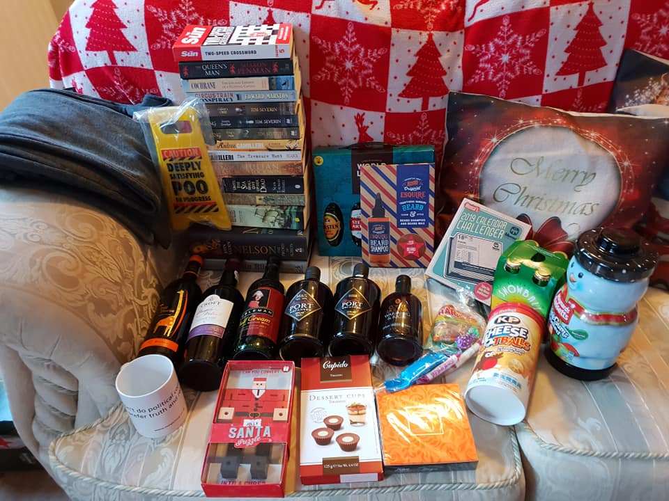 Christmas day photos 2018 - Ant's gifts