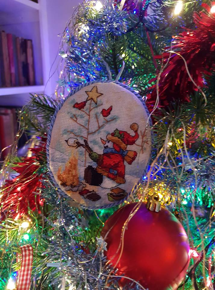 Aiden's Christmas tree decoration