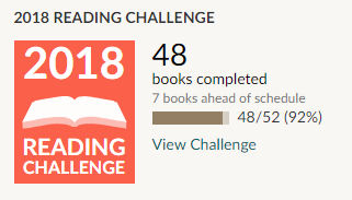 Goodreads-2018-reading-challenge-48-books-read