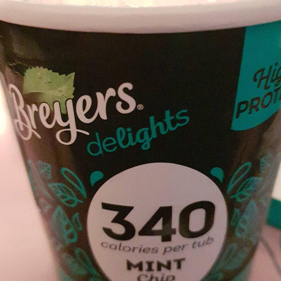 February 2019 1 day 12 pics - Breyers Delights ice cream